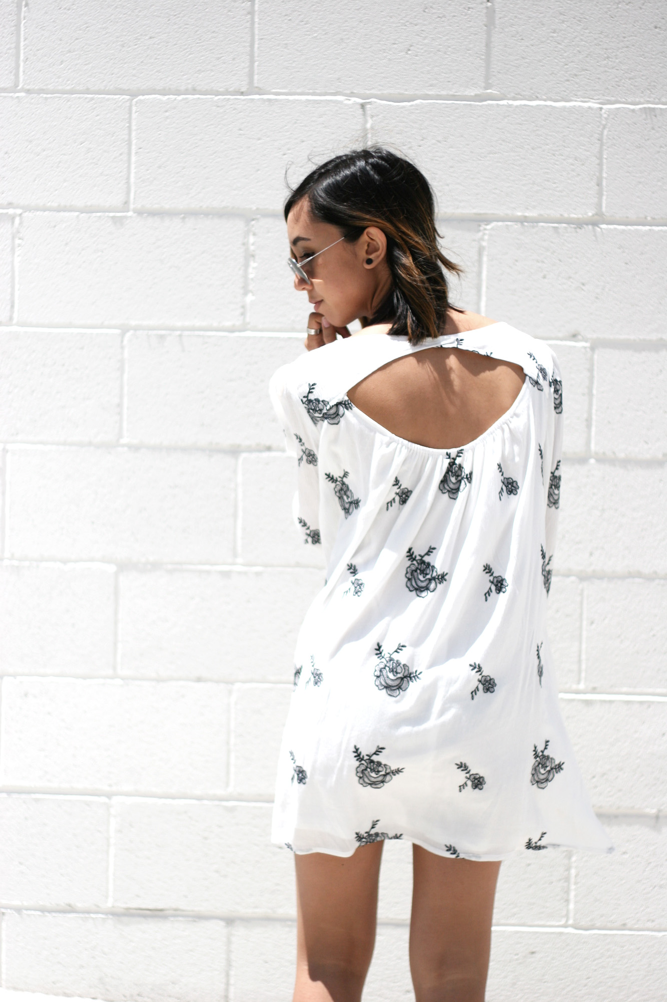 SheInside_White_Longsleeve_Floral_Print_Dress8