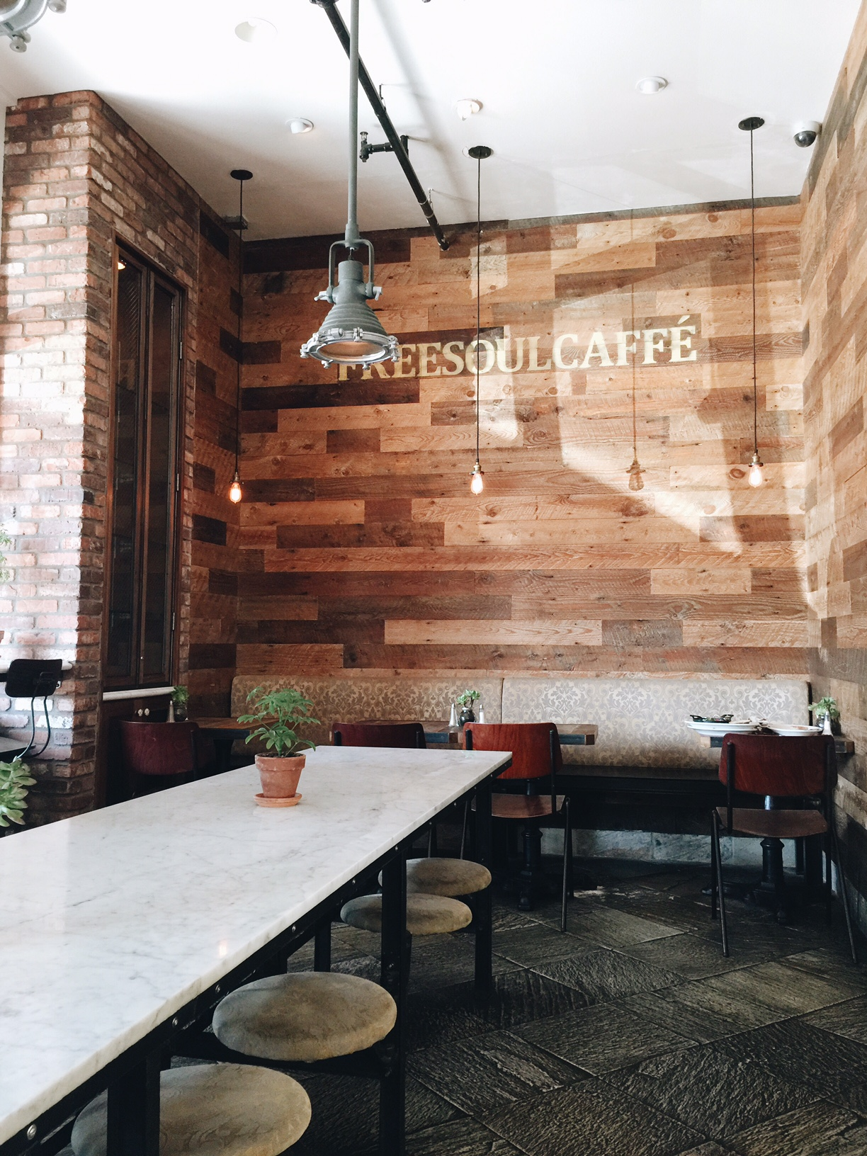FreeSoulCaffe located in downtown Tustin, CA