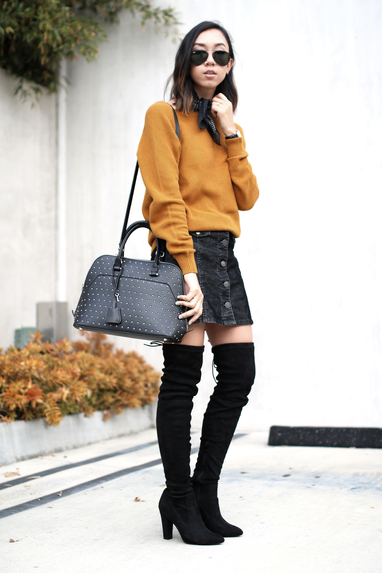 COS_Mustard_Sweater_Studded_ZaraBag