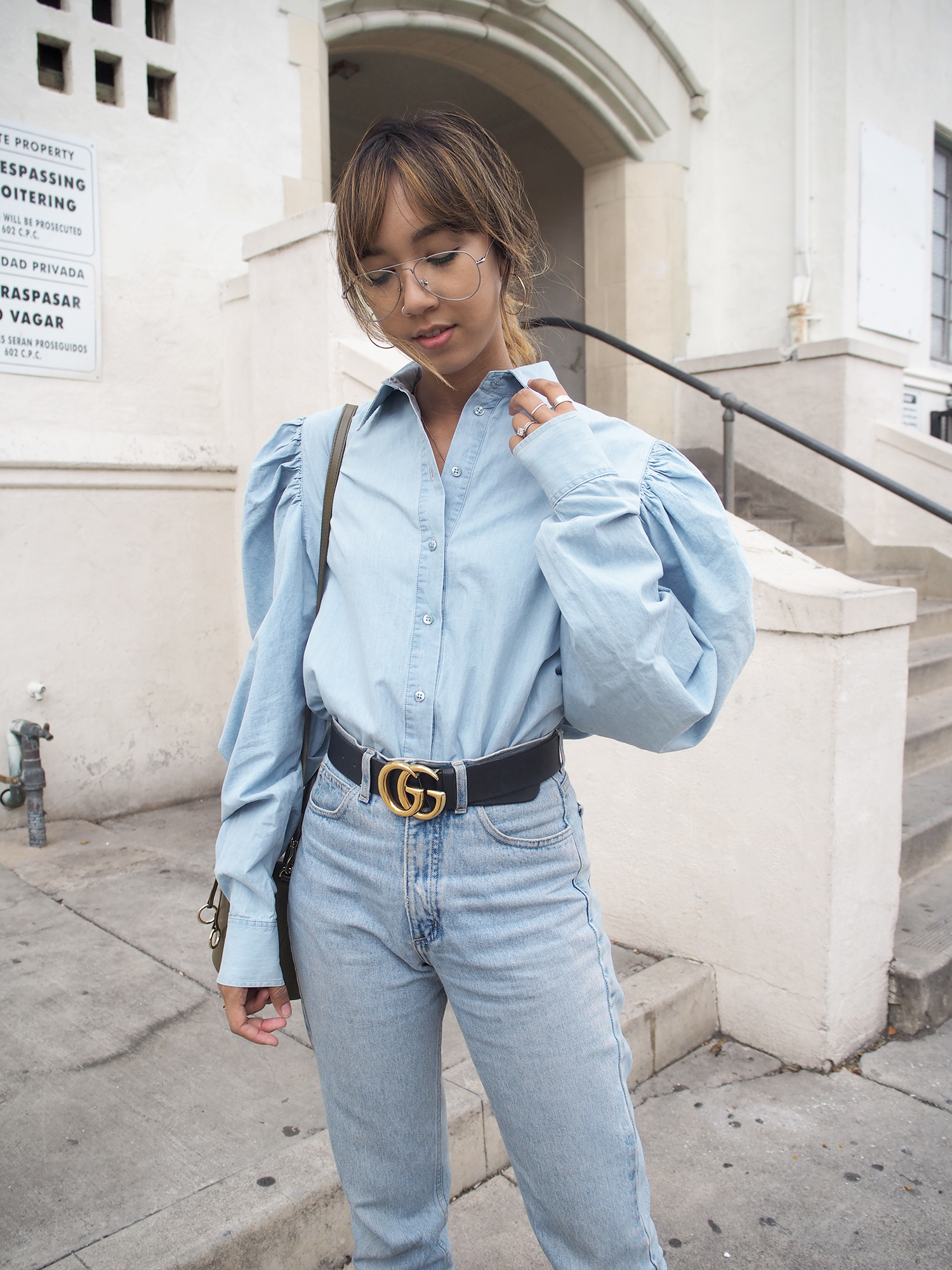 MARQUES' ALMEIDA Denim Shirt